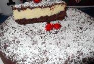 """Šokoladinis varškės pyragas """"Vasaros naktis"""""""