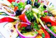 Skaniosios cukinijų salotos