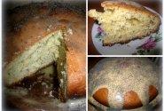 Aguoninis pyragas su citrininiu glaistu