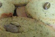 Rozmarino ir moliūgo sėklų sausainiukai