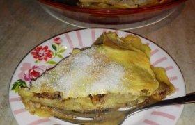 Lengvai paruošiamas obuolių pyragas