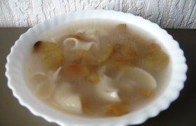 Saldi sriuba su džiovintais obuolais