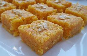 Indiškas morkų skanėstas - Gajar Ki Burfi