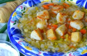 Ispaniška daržovių sriuba - Sopa Alicantina