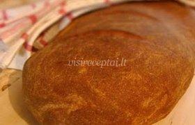 Plikyta juoda ruginė duona