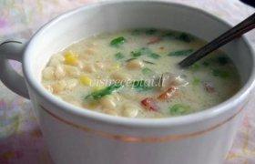 Pupelių ir kukurūzų sriuba