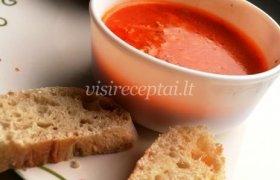 Pomidorų sriuba su faršu