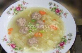 Kopūstų sriuba su kukuliais