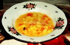 Mamos žirnių sriuba