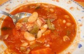 Toskanos pupelių sriuba