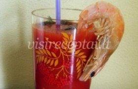 Aštrus pomidorų kokteilis