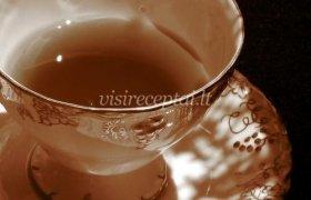 Prakaitavimą skatinanti anyžinė arbata