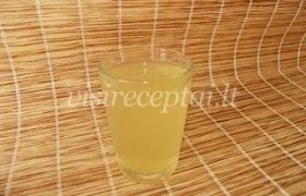 Citrusinių vaisių gėrimas