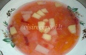 Vaisių sriuba