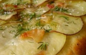 Pica su bulvėmis ir kumpiu