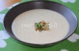 Trinta žiedinių kopūstų sriuba