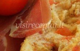 Duona su pomidorais