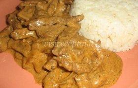 Jautiena su ryžiais