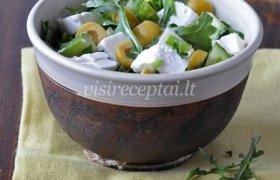 Žaliosios graikiškos salotos