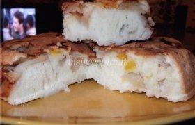Obuolių ir mandarinų pyragas
