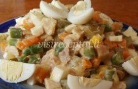 Olgos salotų receptas