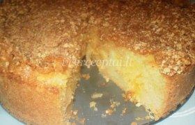 Gedo obuolių pyragas su trupučiu apelsino