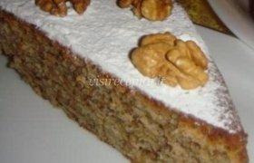 Graikinių riešutų pyragas