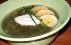 Špinatų ir rūgštynių sriuba