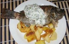 Marinuota žuvis su padažu