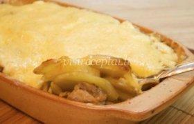 Paprastas bulvių apkepas su mėsa