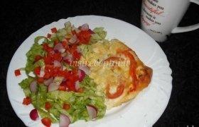 Kiaušinienė su batonu