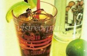"Kokteilis ""Cuba Libre"""