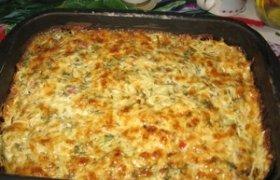 Mėsos, bulvių ir makaronų apkepas