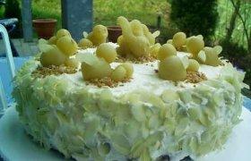 Tortas su sviestiniu kremu