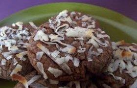 Šokoladiniai sausainiai su kokosu