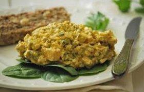 Porų ir kiaušinių salotos