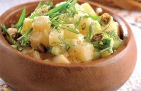 Vengriškos bulvių salotos