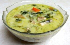 Pievagrybių sriuba studentiškai
