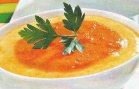 Mikrobanginėje gaminta sūrio sriuba
