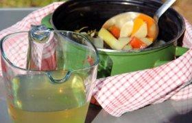 Daržovių sultinys sriuboms