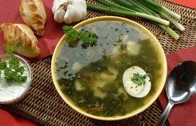 Florentietiška špinatų sriuba