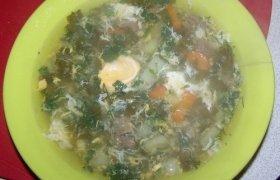 Šalta rūgštynių sriuba