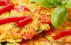 Omletas su pomidorais
