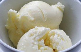 Vanilinių ledų gamyba