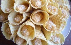 Vafliukai su kremu