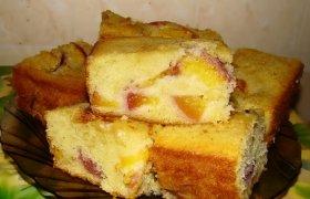 Firminis mamos persikų pyragas