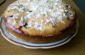 Braškių pyragas