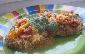 Kepsnys su morkomis, kumpiu ir sūriu