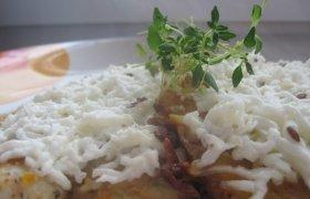 Vištienos kepsneliai su varškės sūriu