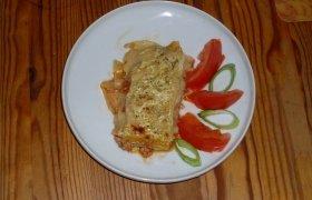 Lazanija su mėsa ir pomidorais